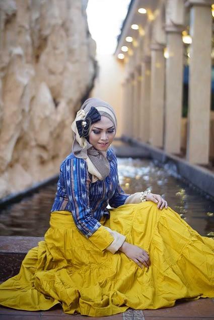 konsep foto hijab