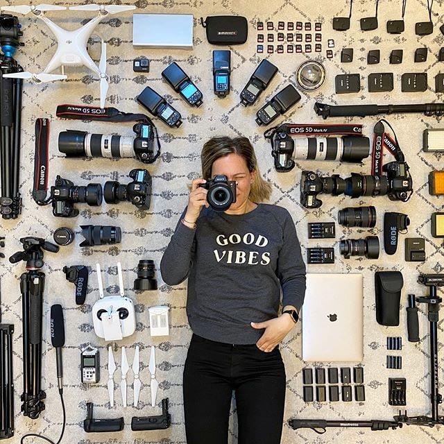 gear kamera dan aksesoris fotografer