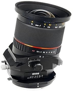 lensa tilt shift / ts lens