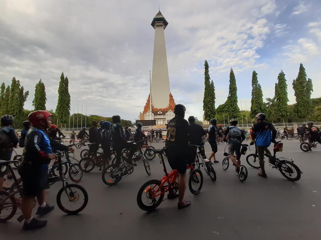 komunitas hobi sepeda di makassar