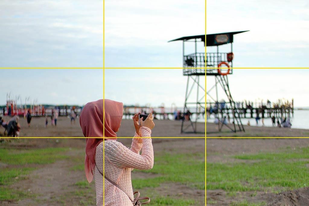 9 Komposisi Foto yang Mudah Untuk Pemula