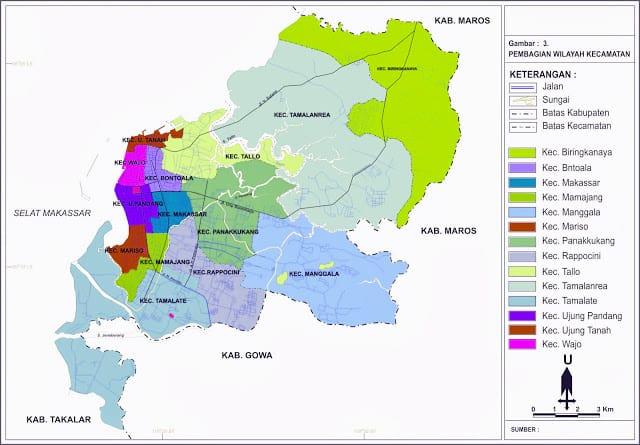 peta-kota-makassar-ujung-pandang-sulawesi-selatan-terbaru